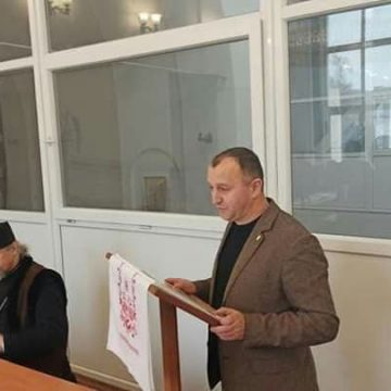 Юрій Сиротюк у Харкові на конференції «Ідентичність і традиція в системі парадигм національного розвитку»