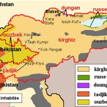 Конфлікт у Фергані – прикордонні суперечки Киргизстану та Таджикистану